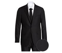 Anzug Regular-Fit - schwarz