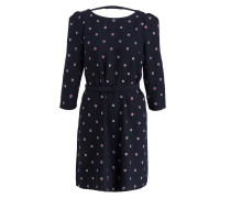 Kleid RICIN - navy/ rot/ hellblau