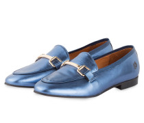 Loafer JACKY - blau metallic