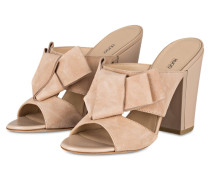 Mules BOW - beige