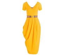Kleid VOLTA - ocker