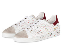 Sneaker MAGIC 1 - weiss/ taupe/ bordeaux