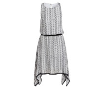 Kleid - grau/ schwarz