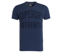 T-Shirt AUTHENTIC REBEL - blau