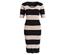 Feinstrick-Kleid GRACE - schwarz