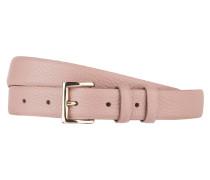 Ledergürtel - rosé