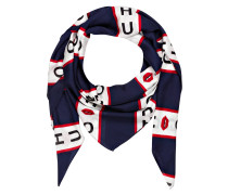 Tuch - navy/ weiss/ rot