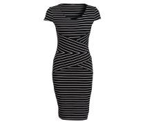 Kleid - schwarz/ weiss gestreift