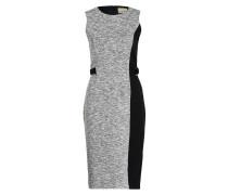 Kleid CHARLOTTE - grau/ schwarz