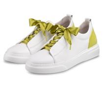 Plateua-Sneaker - WEISS