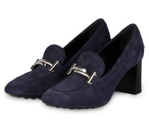 College-Pumps - blau