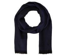 Schal - blau/ schwarz