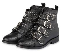 Boots GIA mit Nietenbesatz - schwarz