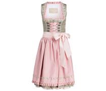 Dirndl - rosa/ grau