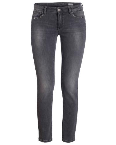 Skinny-Jeans VIC mit Schmucksteinbesatz