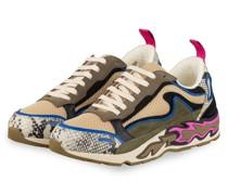 Sneaker - BEIGE/ BLAU/ KHAKI