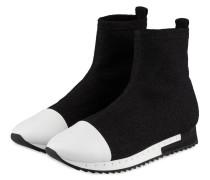Hightop-Sneaker RACER - schwarz/ weiss