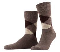 Socken PRESTON - 5256 brown