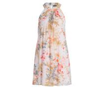 Kleid - hellrosa/ orange/ ivory