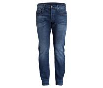 Jeans 3301 Slim-Fit - blau