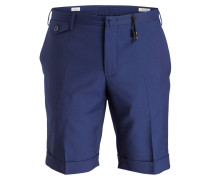 Shorts Slim-Fit - blau