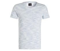 T-Shirt J-EARL-RP - blau/ weiss meliert