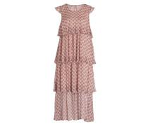 Middi-Kleid ALIA - puder/ rosa