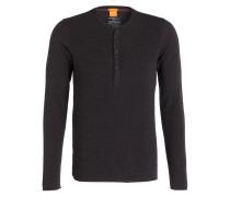 Henley-Shirt TOPSIDER - anthrazit