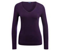 Cashmere-Pullover - berry