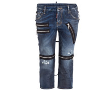 Cropped-Jeans COOL GIRL PARACHUTE - blau