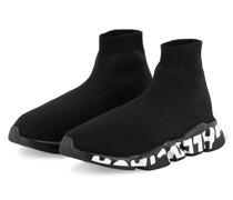 Hightop-Sneaker SPEED GRAFFITI - SCHWARZ