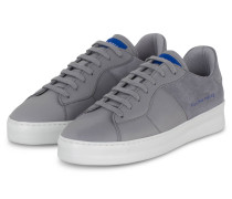 Plateau-Sneaker LOW PLAIN - GRAU