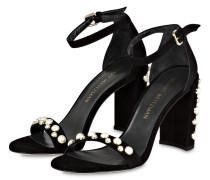 Sandaletten MOREPEARLS  mit Perlenbesatz