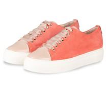 Plateau-Sneaker MOLLIE - HELLROT