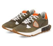 Sneaker LA RUE - KHAKI/ WEISS/ ORANGE