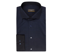 Hemd Slim-Fit - marine