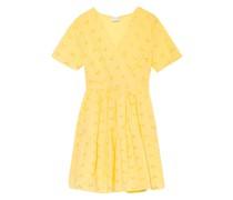 Kleid VISILJE mit Lochstickereien