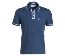 Piqué-Poloshirt EARL - blau