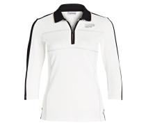 3/4-Poloshirt ESTER - weiss