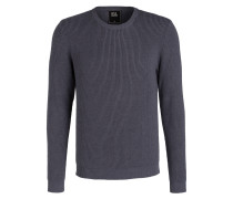 Pullover - blaugrau