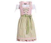 Dirndl - rosa/ grün