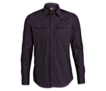 Hemd 3301 Slim-Fit - blau