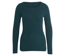 Cashmere-Pullover - dunkelgrün