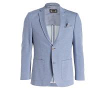 Jerseysakko FLEXCITY Slim-Fit - blau
