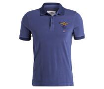 Jersey-Poloshirt - marine