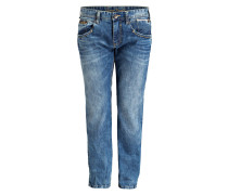 Jeans Straight-Fit - bleached stone blue
