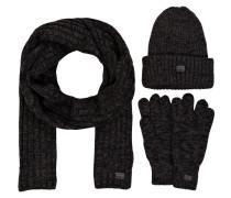 Set XEMY: Schal, Strickmütze und Handschuhe