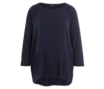 Shirt SABRINE mit 3/4-Arm - dunkelblau
