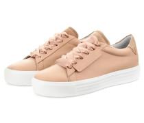 Plateau-Sneaker UP - NUDE