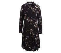 Kleid - schwarz/ weiss/ rot